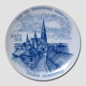 1978 Christmas plate, The South Schleswig Ass