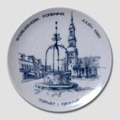 1980 Christmas plate, The South Schleswig Ass