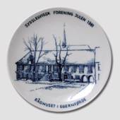 1981 Christmas plate, The South Schleswig Ass