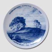 1982 Christmas plate, The South Schleswig Ass