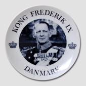 Memorial plate, King Frederik the IX