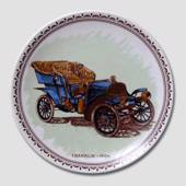 "Vintage Car Plate ""Franklin"""