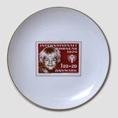 Stamp plate: International Year of the Children 1979, Weibel