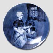 Plate with Fisherman's Wife