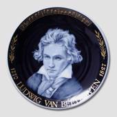 "Plate of Composers' ""Ludvig Von Beethoven"""