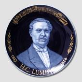 "Plate of Composers' ""H. C. Lumbye"""