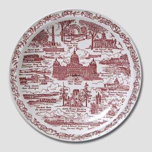 The Iowa Song, Plates of USA | No. DV3016 | DPH Trading