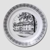 "Plate with ""The Manor House"""