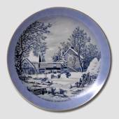 Plate with Home of the Farmer