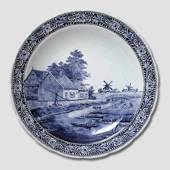 Plate with Canal in Holland 40cm