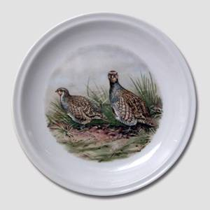 Bavaria, Plate with Birds 19cm | No. DV3052 | DPH Trading