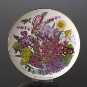 Franklin Porcelain, Wedgwood, Plate with Flowers of the year coll. May