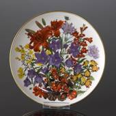 Franklin Porcelain, Wedgwood, Plate with Flowers of the year coll. July