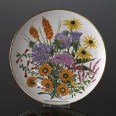 Franklin Porcelain, Wedgwood, Plate with Flowers of the year coll. Septembe...