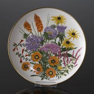 Franklin Porcelain, Wedgwood, Plate with Flowers of the year coll. September | No. DV3087-09 | DPH Trading