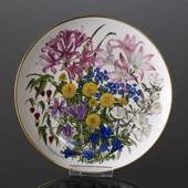 Franklin Porcelain, Wedgwood, Plate with Flowers of the year coll. October