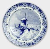 Plate with Landscape with windmill no. 303.28