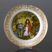 Franklin Porcelain, Plate in the plate collection Grimm Fairy Tales no. 1
