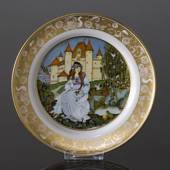 Franklin Porcelain, Plate in the plate collection Grimm Fairy Tales no. 2
