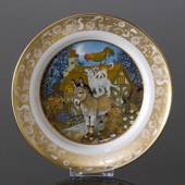 Franklin Porcelain, Plate in the plate collection Grimm Fairy Tales no. 3