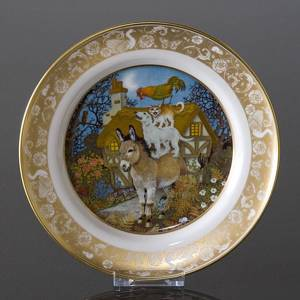 Franklin Porcelain, Plate in the plate collection Grimm Fairy Tales no. 3 | No. DV3111-03 | DPH Trading