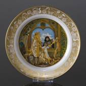Franklin Porcelain, Plate in the plate collection Grimm Fairy Tales no. 4