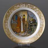 Franklin Porcelain, Plate in the plate collection Grimm Fairy Tales no. 5