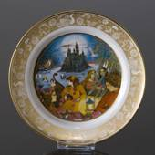 Franklin Porcelain, Plate in the plate collection Grimm Fairy Tales no. 6