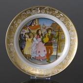 Franklin Porcelain, Plate in the plate collection Grimm Fairy Tales no. 7