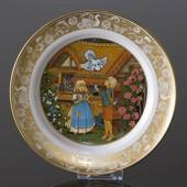 Franklin Porcelain, Plate in the plate collection Grimm Fairy Tales no. 8