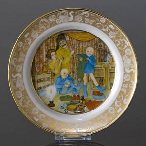 Franklin Porcelain, Plate in the plate collection Grimm Fairy Tales no. 9