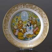 Franklin Porcelain, Plate in the plate collection Grimm Fairy Tales no. 10
