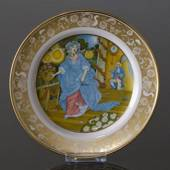 Franklin Porcelain, Plate in the plate collection Grimm Fairy Tales no. 11