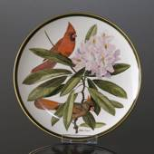 Franklin Porcelain Wedgwood, 1977, Songbirds of the World, Cardinal