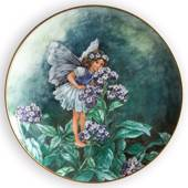 Villeroy & Boch plate, no. 4th plate in the seriesThe Flower Fairies Collec...