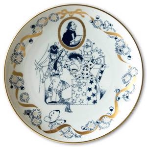 Hans Christian Andersen plate The Steadfast Tin Soldier, Lise Porcelæn | No. DV3140 | DPH Trading