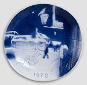 Hans Christian Andersen's House in Odense - 1970 Desiree Christmas plate
