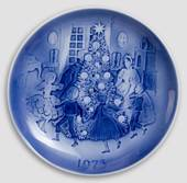 The Fir Tree - 1973 Desiree Hans Christian Andersen Christmas plate