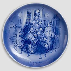 The Fir Tree 1973 Desiree Hans Christian Andersen Christmas plate | Year 1973 | No. DX1973 | Alt. D730 | DPH Trading