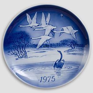 The Ugly Duckling 1975 Desiree Hans Christian Andersen Christmas plate | Year 1975 | No. DX1975 | Alt. D750 | DPH Trading