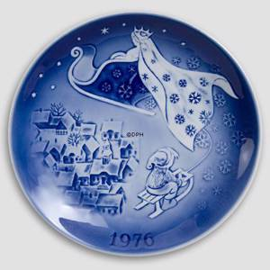 The Snow Queen 1976 Desiree Hans Christian Andersen Christmas plate | Year 1976 | No. DX1976 | Alt. D760 | DPH Trading