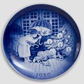 The Sandman - 1980 Desiree Hans Christian Andersen Christmas plate
