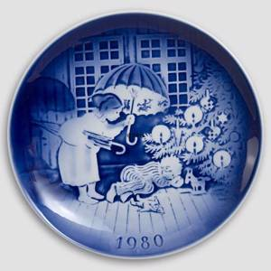The Sandman 1980 Desiree Hans Christian Andersen Christmas plate | Year 1980 | No. DX1980 | Alt. D800 | DPH Trading