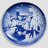 The Bell Deep - 1988 Desiree Hans Christian Andersen Christmas plate, cake ...
