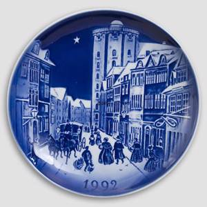 The Round Tower - 1992 Desiree Hans Christian Andersen Christmas plate, cak...