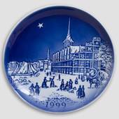 The Two Baronesses - 1999 Desiree Hans Christian Andersen Christmas plate, ...