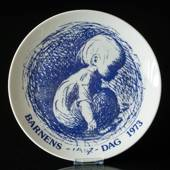 1973 Elgporslin Children's Day plate