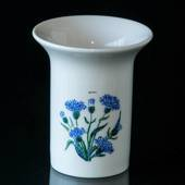 Elgporslin Vase with Blue Flower