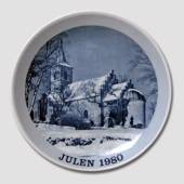 1980 Christmas plate Familie Journalen