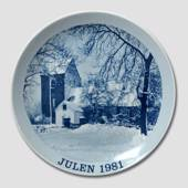 1981 Christmas plate Familie Journalen